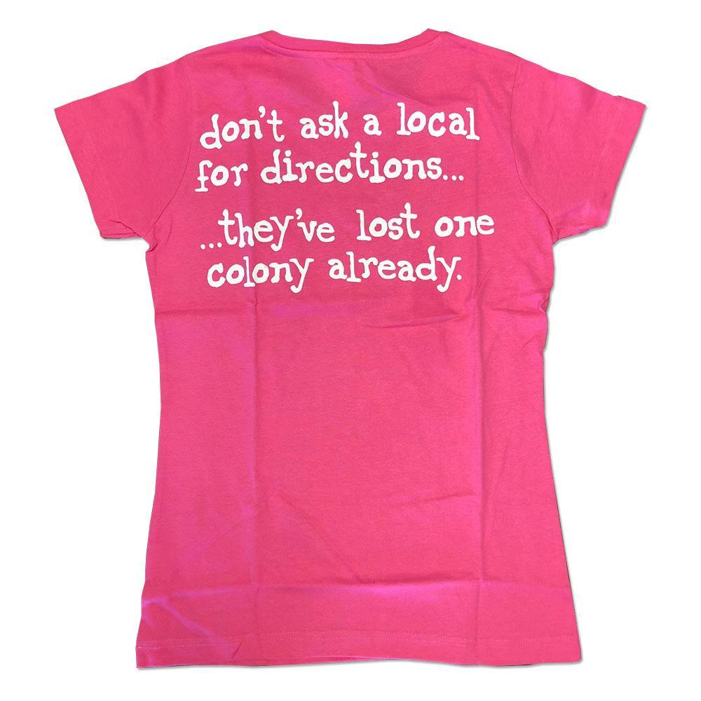 Don't Ask A Local Ladies Short Sleeve T-Shirt