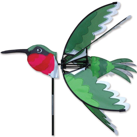 Ruby Hummingbird 24 Inch Wind Spinner