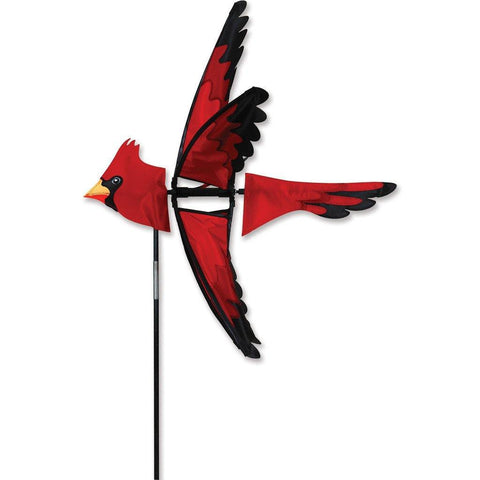 Cardinal Bird 23 Inch Wind Spinner