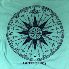 OB Long Sleeve Vintage Compass Shirt - Kitty Hawk Kites Online Store