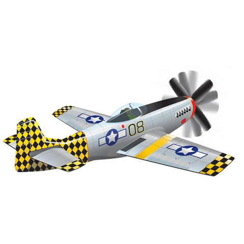 P-51 Mustang SuperSize 3-D Airplane Kite
