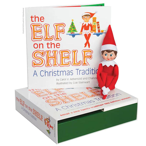 The Elf on the Shelf®: A Christmas Tradition - Girl