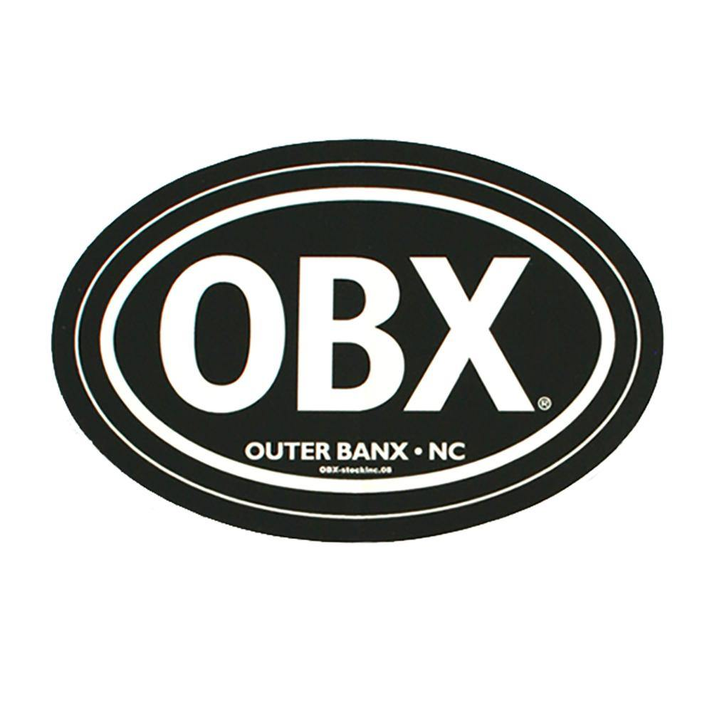 OBX Black Mini Magnet - Kitty Hawk Kites Online Store