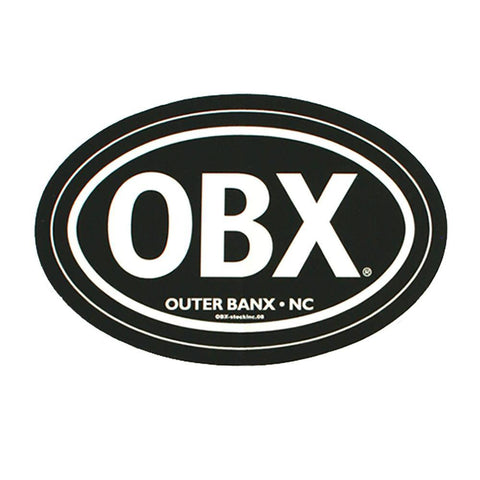 OBX Black Mini Magnet