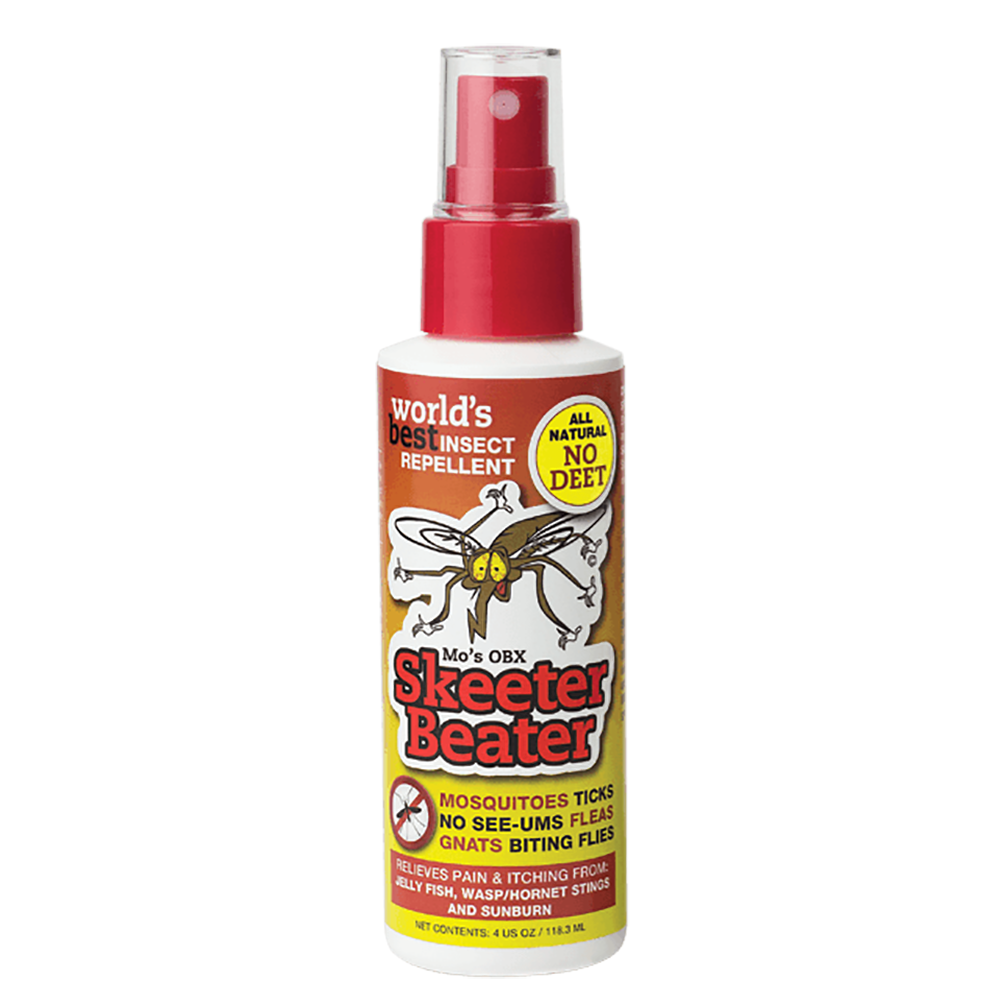 Mo's OBX Skeeter Beater Insect Repellent - 4 oz - Kitty Hawk Kites Online Store