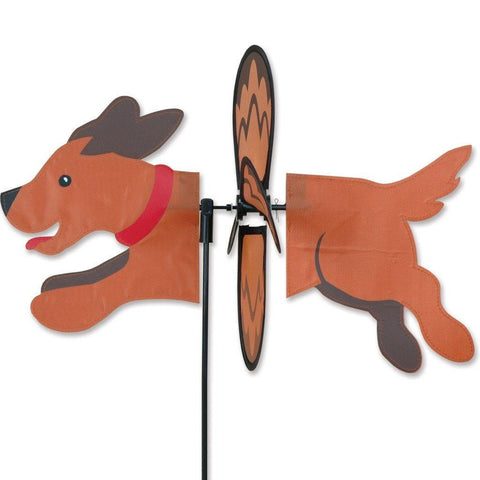 Brown Dog Petite Wind Spinner