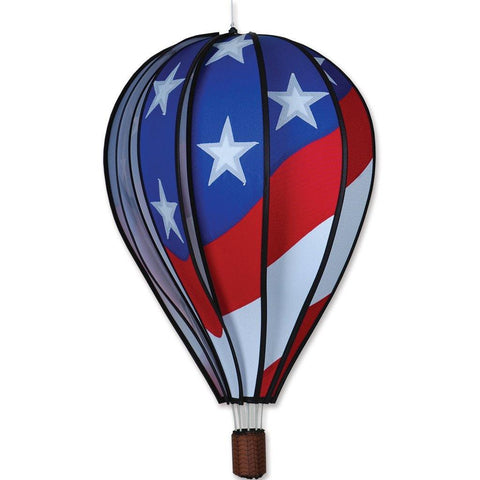 Patriotic 22 Inch Hot Air Balloon Twister