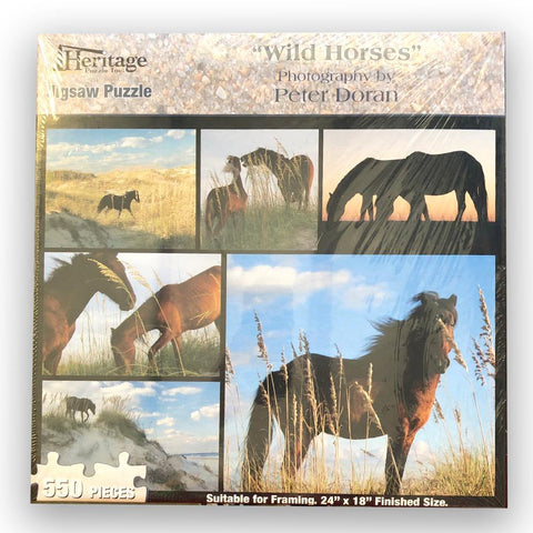 Wild Horses Puzzle - Kitty Hawk Kites Online Store