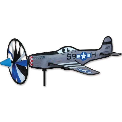 20 Inch P-51 Mustang Airplane Wind Spinner - Kitty Hawk Kites Online Store