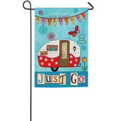 Just Go Garden Flag - Kitty Hawk Kites Online Store