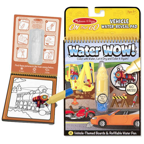 Water Wow! Vehicles - On the Go Travel Activity - Kitty Hawk Kites Online Store