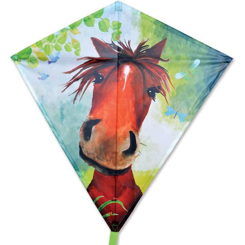 Horace Horse 30 Inch Diamond Kite