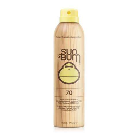 SPF 70 Sun Bum Spray