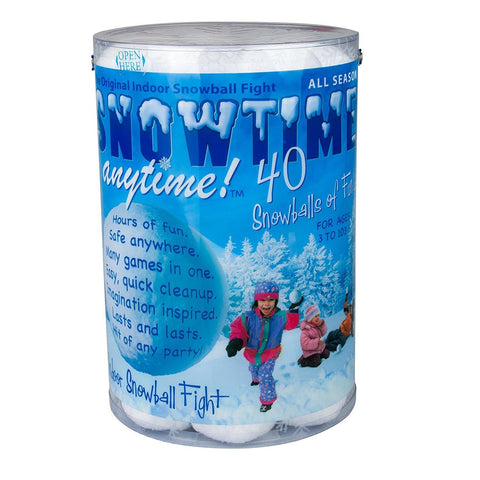 Snowtime Anytime Snowballs 40-Pack