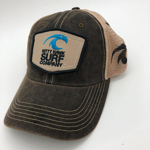 Kitty Hawk Surf Co. Two-Tone Trucker Hat