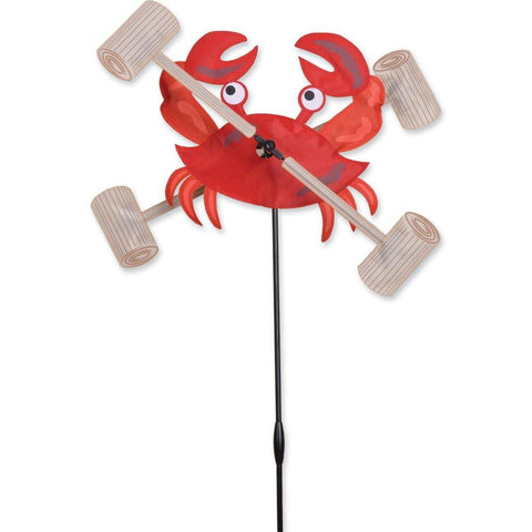 Crab 12 Inch Whirligig Wind Spinner