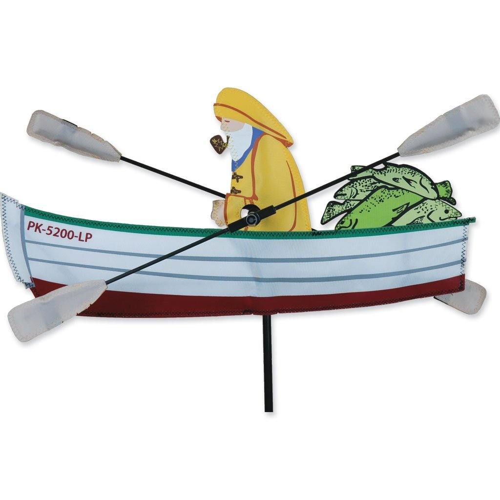Fisherman 18 Inch Whirligig Wind Spinner