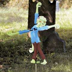 Zombie 20 Inch Whirligig Wind Spinner