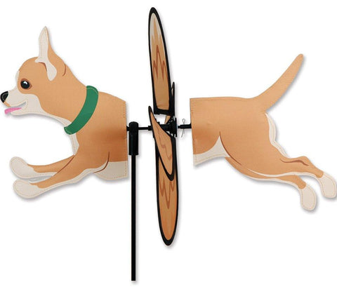 Chihuahua Dog Petite Wind Spinner