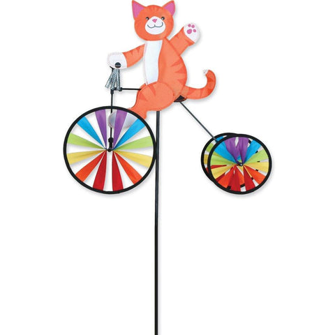 Cat 19 Inch Tricycle Wind Spinner