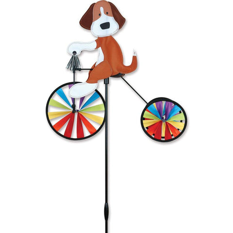 Dog 19 Inch Tricycle Wind Spinner