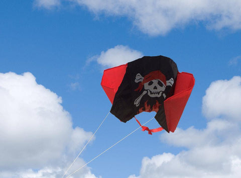 Pirate Sled Kite In KHK Mini Backpack