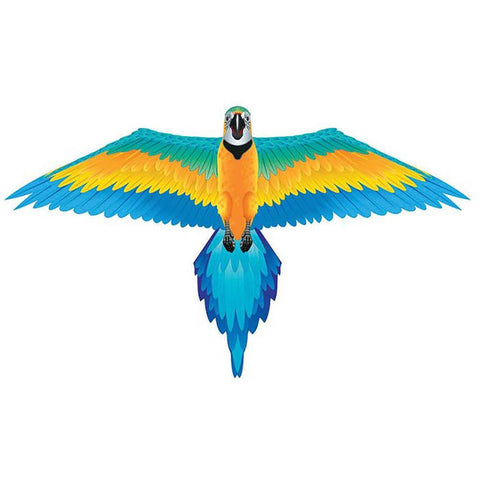 Blue Macaw 3D Bird Kite
