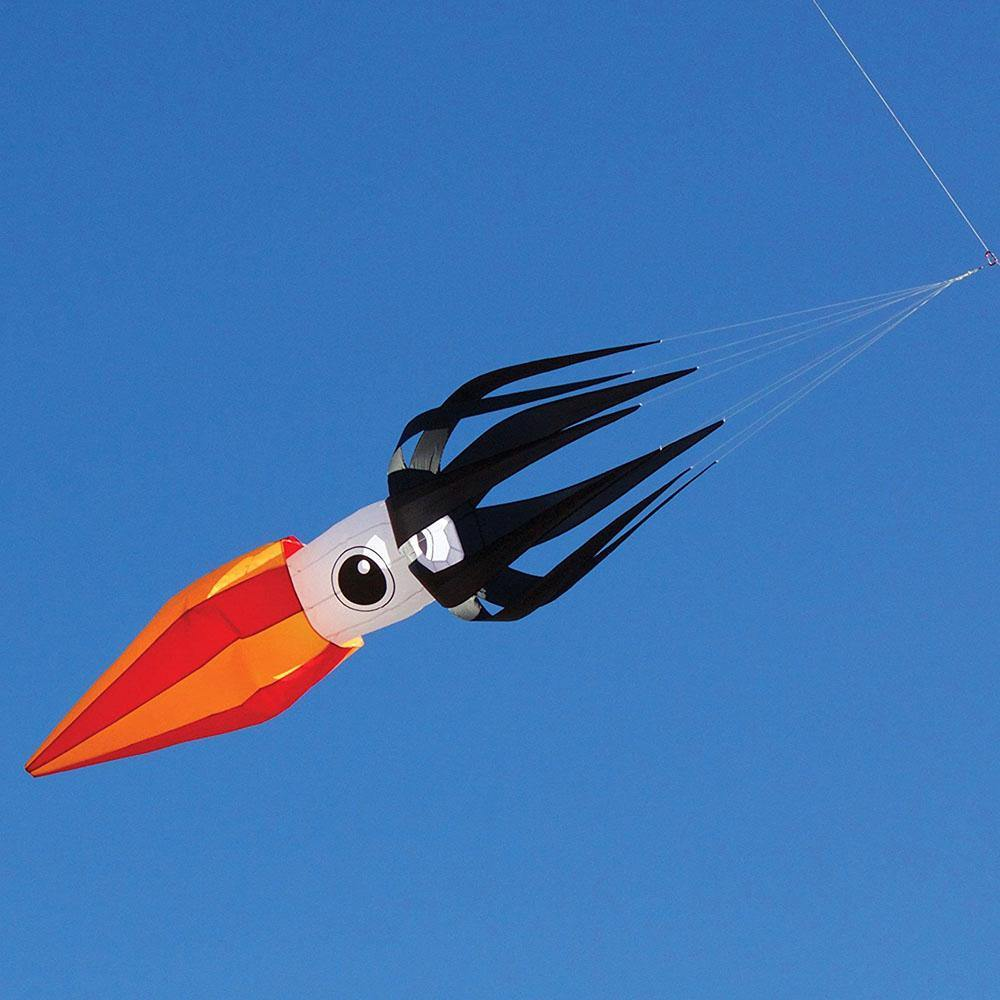11 Foot Flying Squid Kite Line Laundry