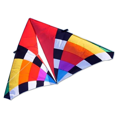 9 Foot Levitation Delta Kite - Rainbow