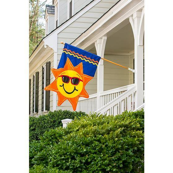 Summer Sunshine House Flag