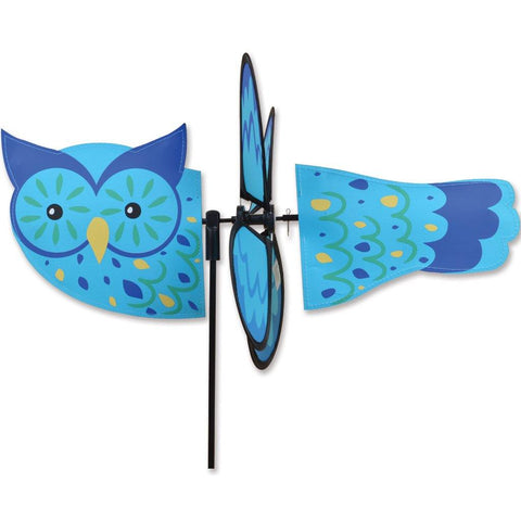 Blue Owl Petite Wind Spinner - Kitty Hawk Kites Online Store
