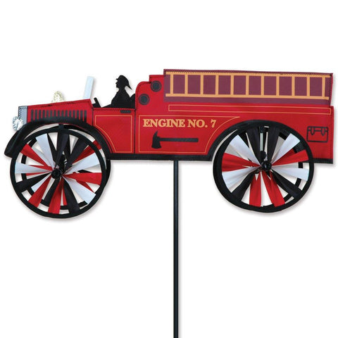 Fire Truck 21 Inch Wind Spinner