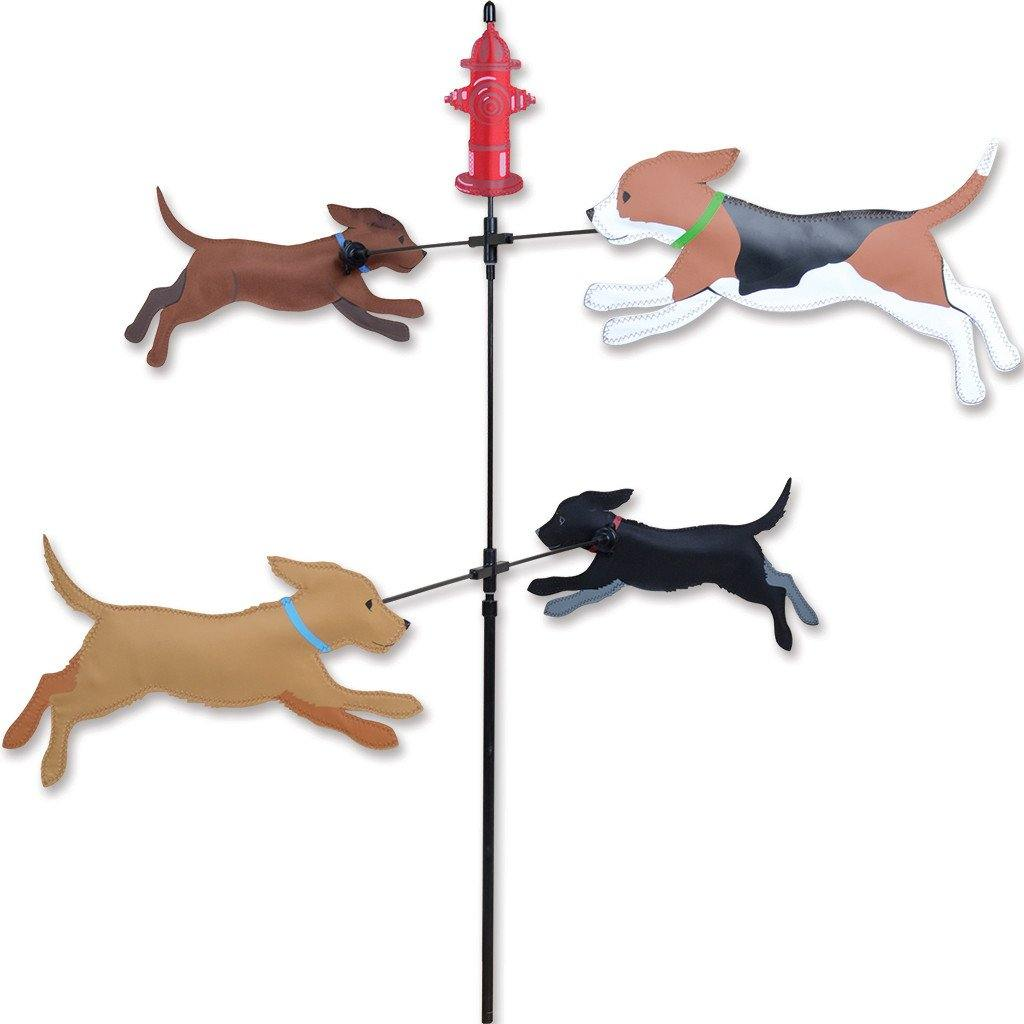Dogs Carousel Wind Spinner