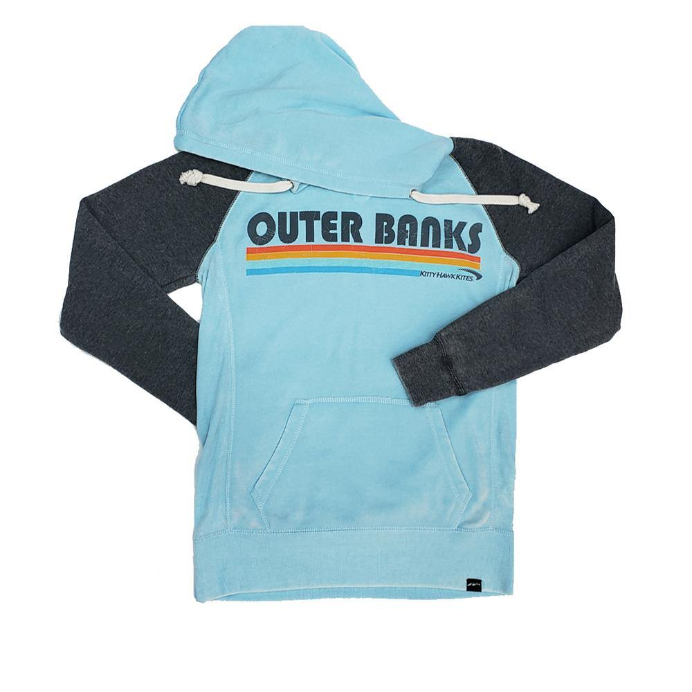 Outer Banks Color Block Hooded Sweatshirt