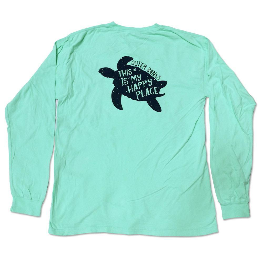 This Is My Happy Place OB Turtle Long Sleeve Tee