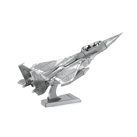 Metal Earth F-15 Eagle Plane 3D Model Kit