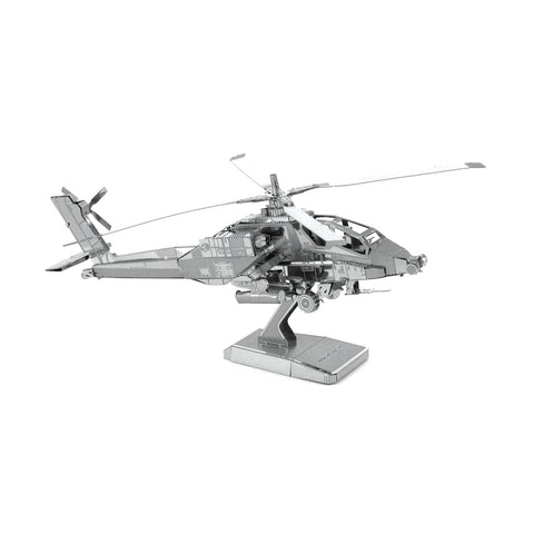 Metal Earth AH-64 Apache Helicopter 3D Model Kit - Kitty Hawk Kites Online Store