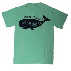 This is My Happy Place Whale Tee