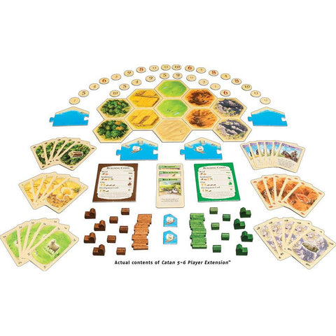 Catan 5-6 Player Expansion - Kitty Hawk Kites Online Store