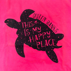 Youth OBX Short Sleeve Turtle Happy Place T-Shirt
