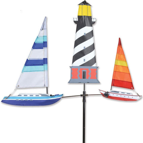 Lighthouse Carousel Wind Spinner - Kitty Hawk Kites Online Store