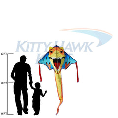 T-Rex Easy Flyer Kite - Custom KHK Color
