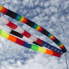 20 Foot Patriotic Tube Kite Tail - Kitty Hawk Kites Online Store