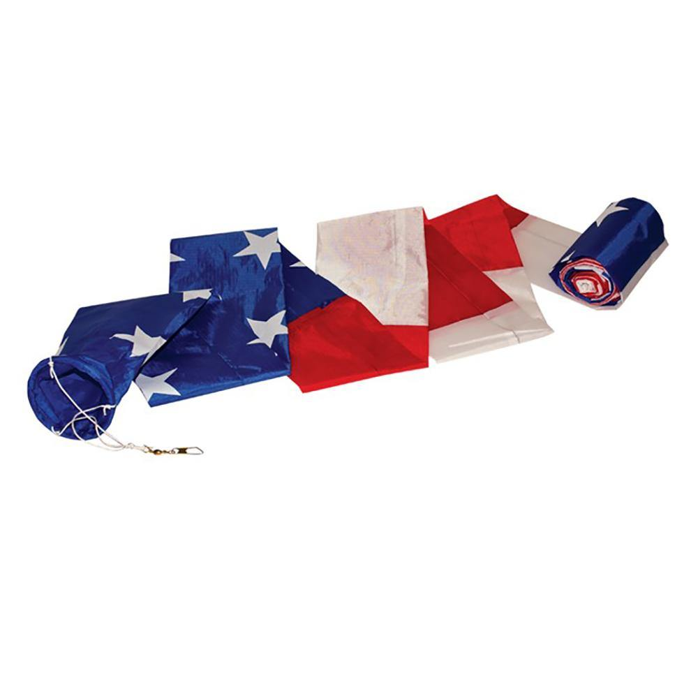 20 Foot Patriotic Tube Kite Tail