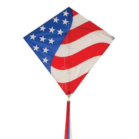 Stars & Stripes 30 Inch Diamond Kite - Kitty Hawk Kites Online Store