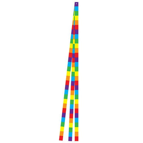 15 Foot Rainbow Stripe Kite Tail Set - Kitty Hawk Kites Online Store