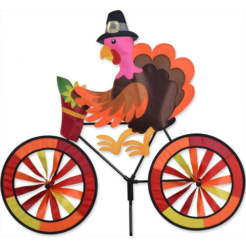 Turkey On Bike Wind Spinner - Kitty Hawk Kites Online Store