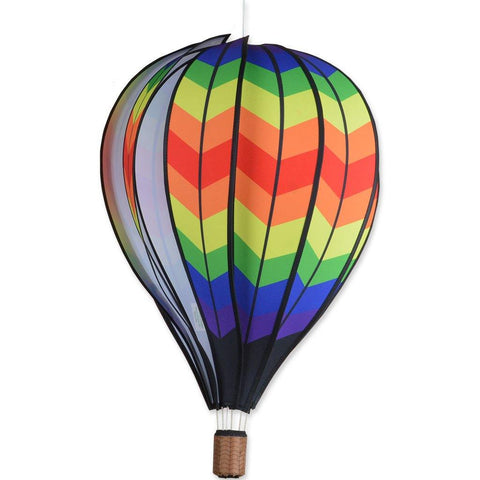22 Inch Double Chevron Hot Air Balloon Twister