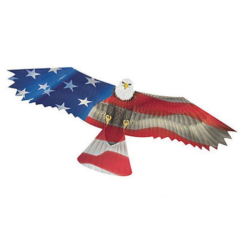 Patriotic Eagle SuperSize 2-D Kite - Kitty Hawk Kites Online Store
