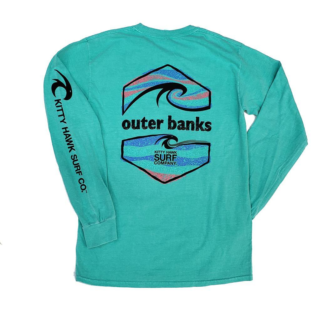 KHSC Long Sleeve T-Shirt - Kitty Hawk Kites Online Store
